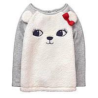 Детский пуловер для девочки  12-18, 18-24 месяца