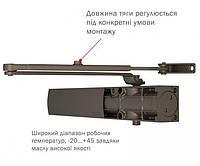 Доводчик накладной D-1200P(U) BC UNIV_ARM EN_2/3/4, фото 1