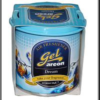 Освежитель воздуха AREON GCK02 гель Can Dream (мечты), освежитель воздуха для автомобиля, освежитель для машины