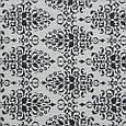 Гобелен ткань, вензель, чёрно-белый, фото 2