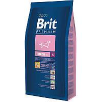 Корм Brit Premium Junior S для щенков и молодых собак маленьких пород, 8кг