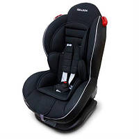 Детское Автокресло Welldon Smart Sport Isofix (черный) для детей от 9 месяцев до 6 лет Фиксация Isofix
