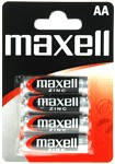 Maxell Manganese 4 in BLISTER AA R6