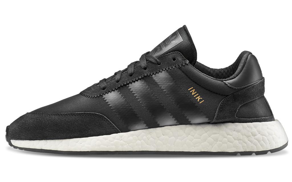 Мужские кроссовки adidas Iniki Runner Boost (Адидас Иники) черные