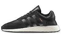 Мужские кроссовки Adidas Iniki Runner Boost (Адидас) черные