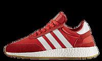 Мужские кроссовки Adidas Iniki Runner Boost (Адидас) красные