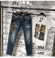 Турецкие джинсы AMNESIA с котом