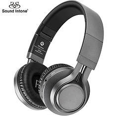Бездротові навушники Sound Intone BT-08 Gray