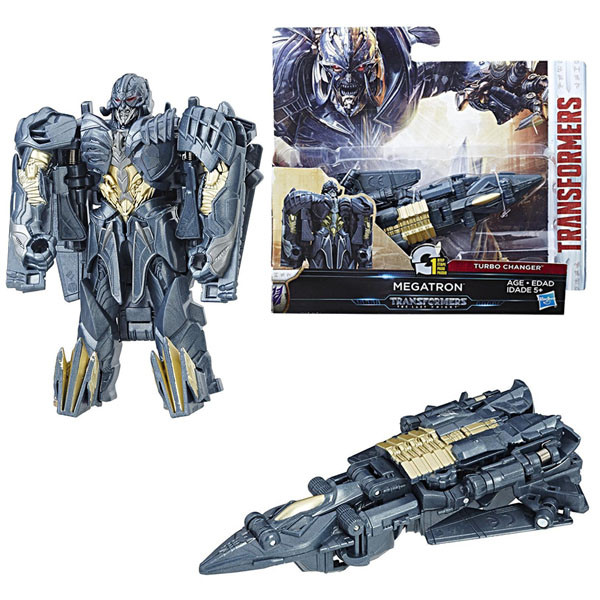 Трансформеры 5 Уан-Стэп Мегатрон Последний рыцарь. Оригинал Hasbro C2821/C0884
