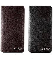 Клатч мужской кожаный Armani, мужской, оригинальный подарок, стильный клатч, портмоне