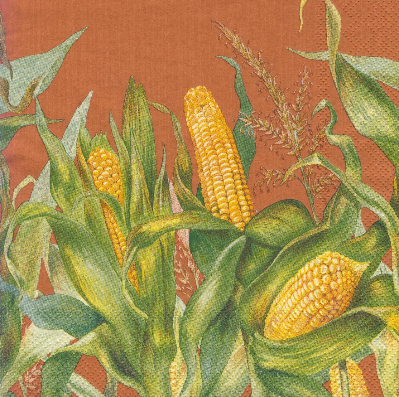 Cалфетка декупажная Кукуруза 7230