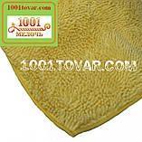 """Коврик из микрофибры """"Макароны или дреды"""" для широкого применения, 120х75 см., молочный цвет, фото 3"""