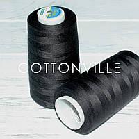 Нитки швейні 50/2 (5000Y) колір чорний