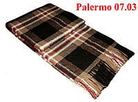 Плед  полуторный 140х200, тм. VLADI, Палермо «Palermo» 07.03 (беж-кор-бел-крас)