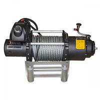 Лебедка автомобильная электрическая T-MAX FEW-13500 8650100 напряжение 24V, тяговое усилие 6,118 т, Fire Work series, электрическая лебедка, тюнинг