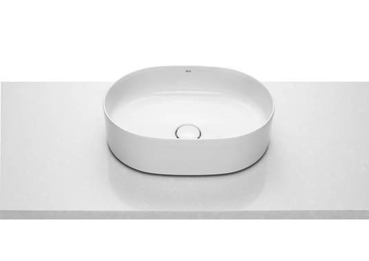INSPIRA Round умывальник 500*370*140мм, круглый, накладной, без отв. под смеситель, без перелива