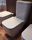 ORLANDO Компакт напольный гор. выпуск, ниж п, бачок 3/6л, сиденье тв Slim slow-closing (660*355*850мм)