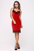 Вечернее платье цвет: красный, размер: 42, 44