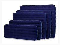 Надувной матрас велюровый для отдыха