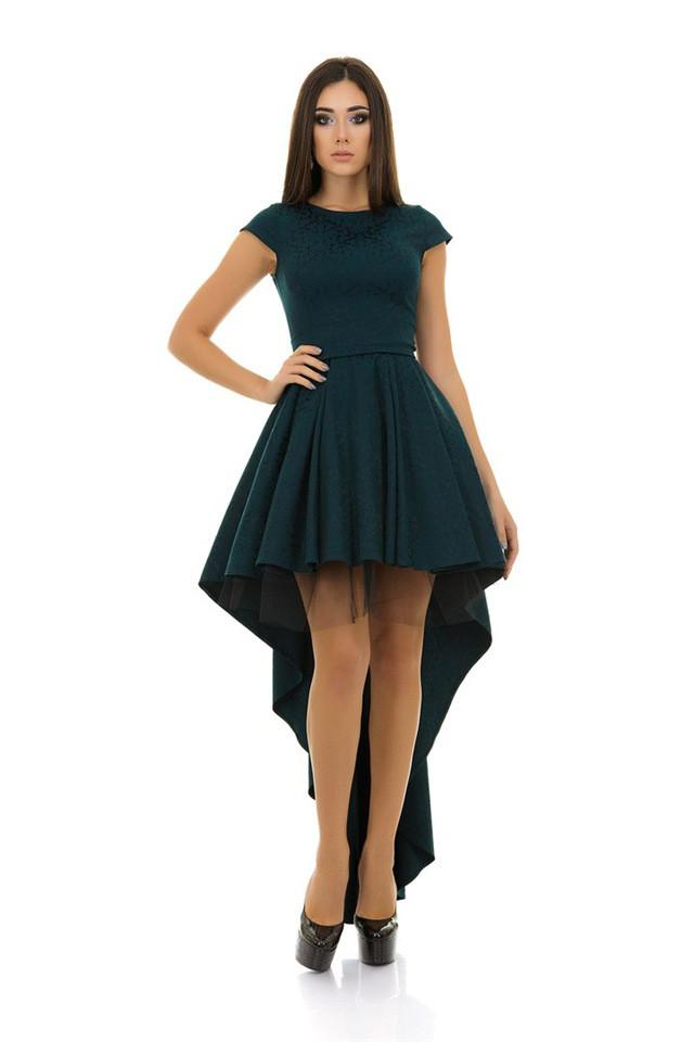 Роскошное вечернее платье со шлейфом Robins и с фатиновым подъюбником  (3цвета) - Интернет - 209bf959d18