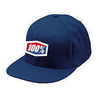 """Кепка Ride 100% """"ICON"""" 210 Fitted Hat Navy , L/XL"""