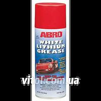 Смазка для автомобиля литиевая ABROLG-380 спрей, объем 284 г, автомобильная смазка, машинная смазка