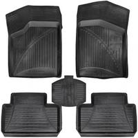 Коврики автомобильные 09991 P/A  F ВАЗ (2108 - 2109), (2113 - 2115), с перемычкой, в комплекте 5 шт, коврик для авто, автоаксессуары, коврик под ноги