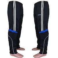 Мужские спортивные брюки L6010 (эластан) оптом со склада в Одессе