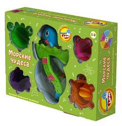 Игровой набор для ванной Морские чудеса, MOMMY LOVE