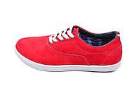 Мокасины кожаные Multi-Shoes TH-1 Red, фото 1