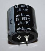 220мкф-450v;   (105°C) GN<M>  30*30   Nichicon