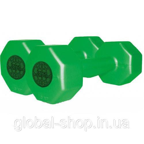Гантели для фитнесса пара по 3 кг