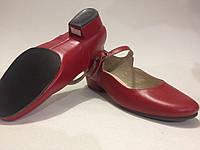 Туфли с раздельной подошвой Наполи(каблук 2,5см)