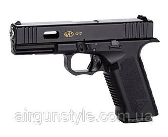 Пистолет пневматический SAS G17 Blowback (Glock 17) [KMB-19AHN]