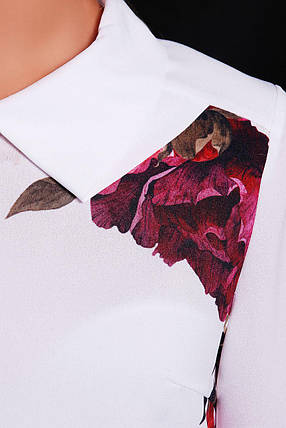 GLEM Пионы Glem блуза Тамила2 д/р, фото 2