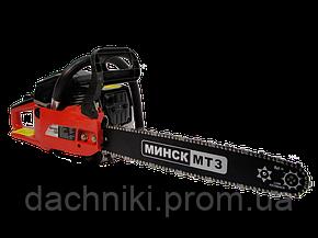 Бензопила Минск  6100 комплектация 2 шины 2 цепи, фото 2
