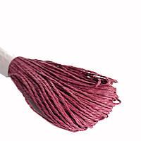 Шнурок для декора бордовый