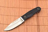 Нож нескладной Наемник, кожаный чехол в комплекте, фото 1