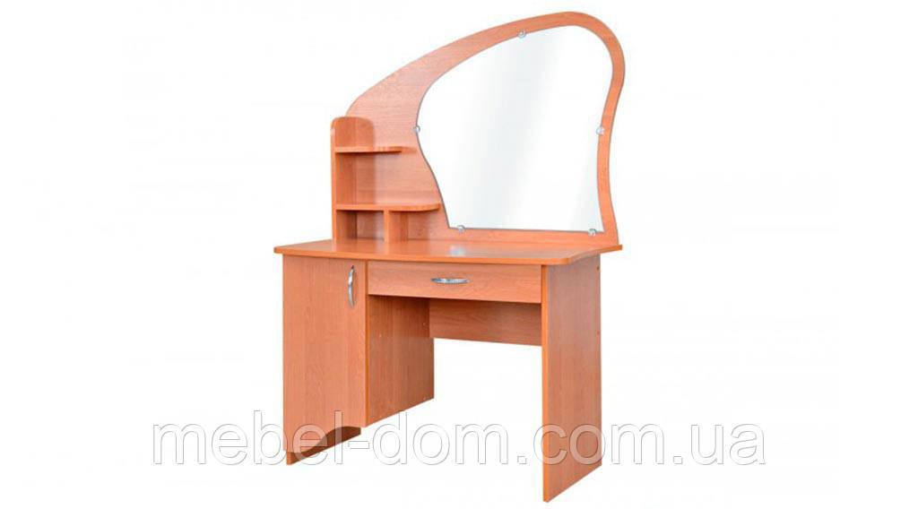 Трюмо-3, туалетный стол с тумбой, зеркалом и выдвижным ящиком
