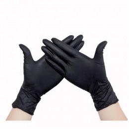 Перчатки одноразовые нитриловые, латексные