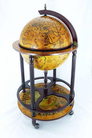 Глобус - бар напольный 42003 R, фото 2