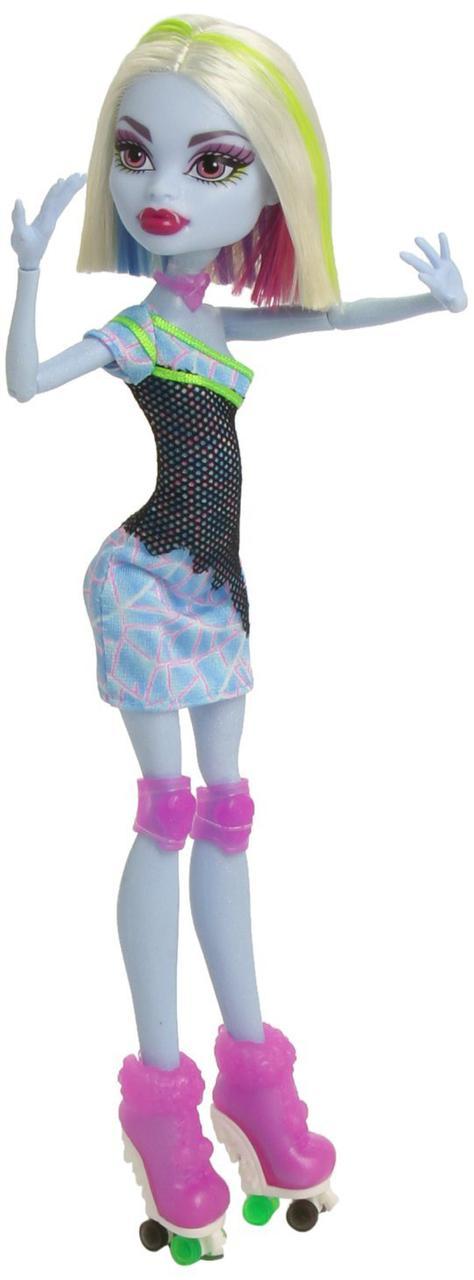 Кукла Монстер Хай Эбби Боминейбл Убойный Роликовый Лабиринт Monster High Roller Maze Abbey Bominable