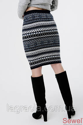 Зимняя теплая юбка карандаш, фото 2