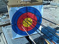 Стрела карбоновая 76см со съемным наконечником, для классических и блочных луков