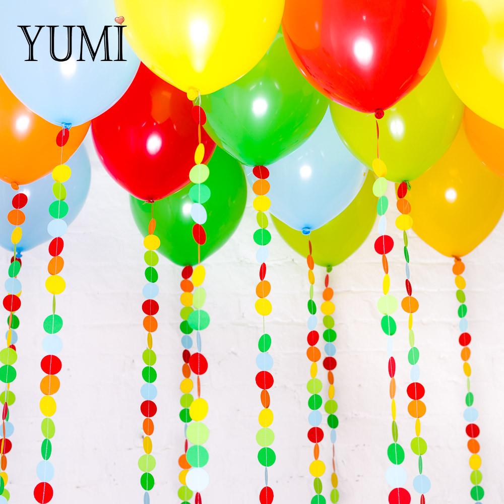 Яркое оформление из воздушных шаров для ребенка