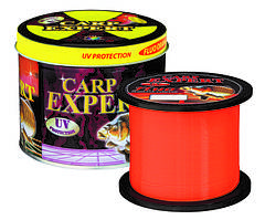 Леска Energofish Carp Expert UV Fluo Orange 1000м, Ø0.25мм, 8.9кг