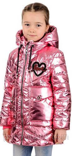 Детская курточка для девочки демисезонная