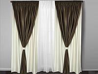 Готовые шторы в гостинную,спальню , прихожую , фото 1