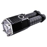 Супер мощный фонарь на два аккумулятора, на новом крис