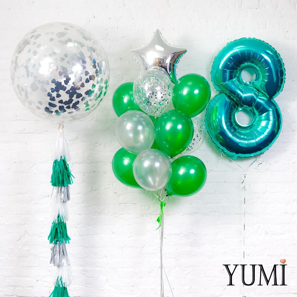 Оформление из воздушных шариков для ребенка